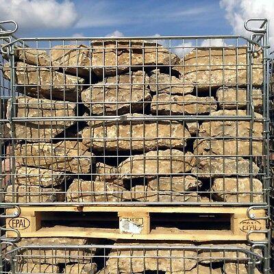 1,2 T Trockenmauersteine € 183,33/t Natursteine Muschelkalk Gartengestaltung Diversifiziert In Der Verpackung