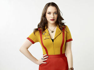 Image Is Loading 2 Broke Girls 8X10 Waitress Outfit From Show