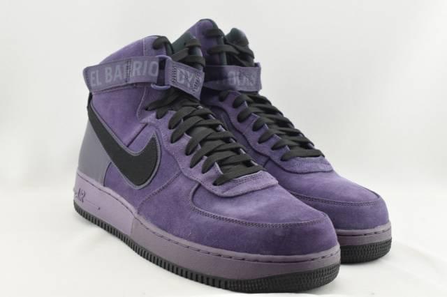 New Nike Air Force 1 High '07 QS Men's Shoes Dark Raisin/Night Purple 573967 500