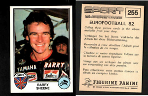 BARRY-Sheen-GBR-EUROFOOTBALL-82-SPORT-supertsars-EDIZIONI-Panini-Nuovo-di-zecca-255
