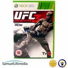 UFC: indiscusso 3 (XBOX 360) ** in un caso nuovo di zecca! * *