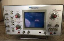 Motorola Test Equipment 15 Mhz Dual Trace Oscilloscope Model R 1004a