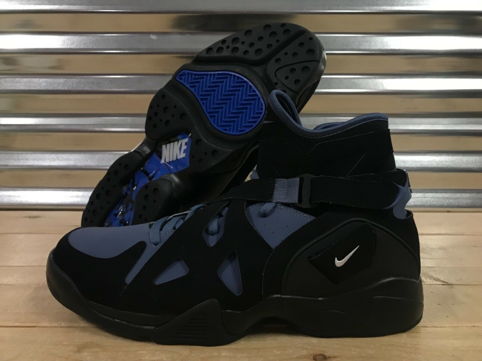 Nike Air Unlimited David Robinson Basketball shoes Slate SZ 15 ( 889013-003 )