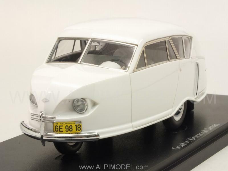 Gordon Diamond Sedan 1949 blanc 1 43 AUTO CULT 06007