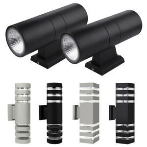 1-4Pcs-Waterproof-LED-Wall-Light-Up-Down-Sconce-Outdoor-Lighting-Lamp-Fixture