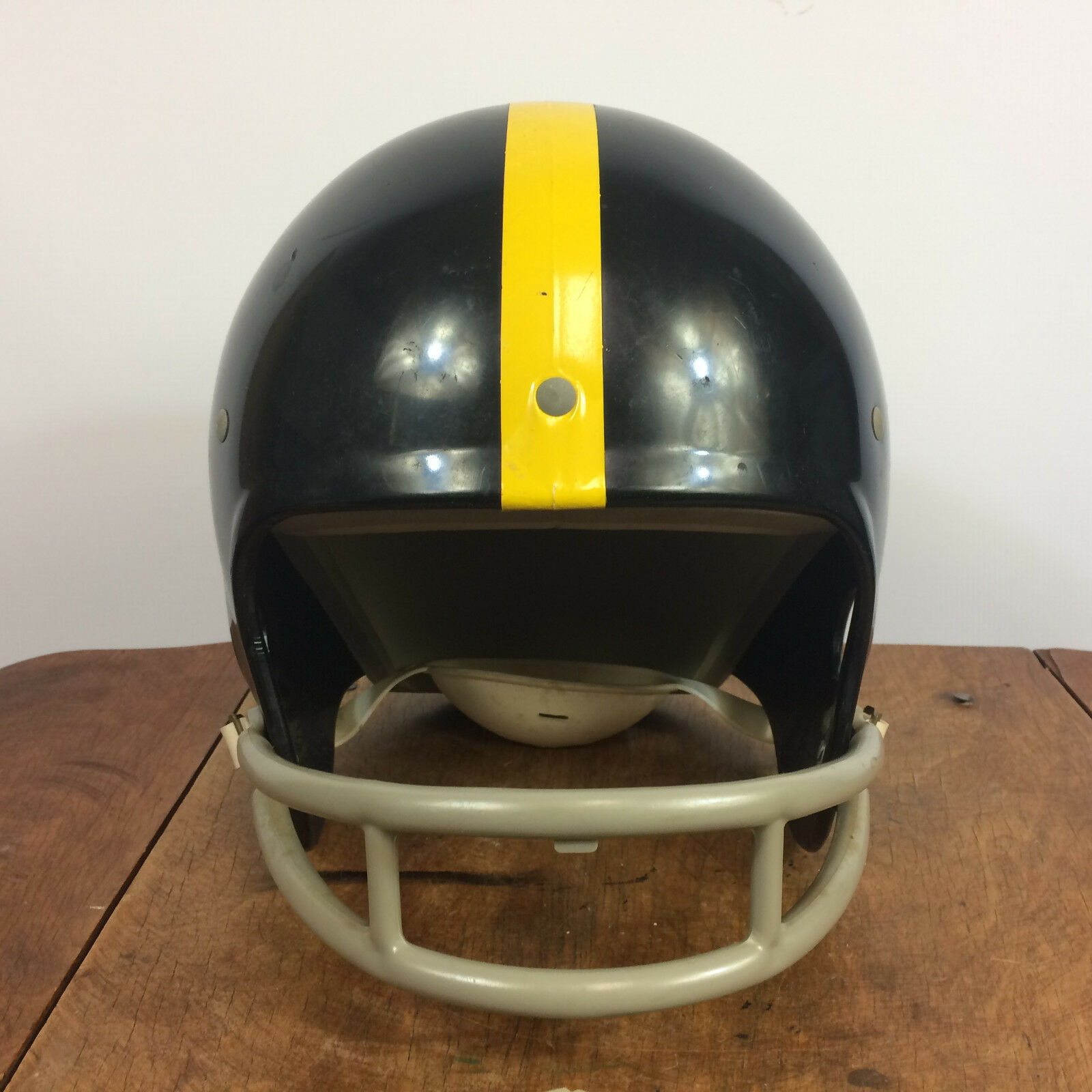 1970's Vintage Rawlings Football helmet helmet helmet Pittsburg Steelers b95817
