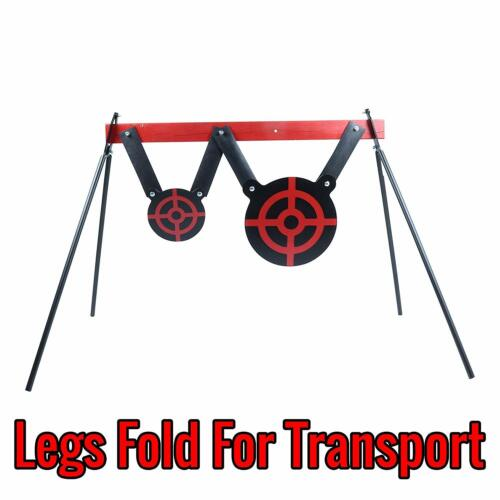 Folding Metal Legs Steel Target Stand for AR500 Targets and Gongs