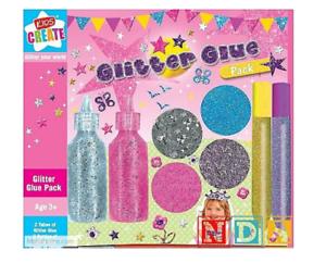 Glitter Shiny Glue Pens Easy Squeeze Children Art Creative Craft Card Design