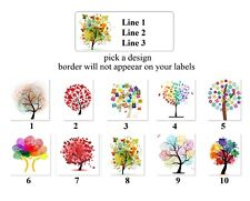 30 personalized return address labels tree of life buy 3 get 1 ebay