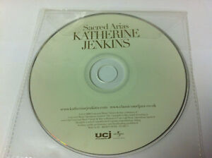 Katherine-Jenkins-Sacred-Arias-Music-CD-Album-2008-DISC-ONLY-in-Plastic-Sleeve