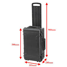 Mobile Large 30 Ltr Waterproof IP67 Rated Hard Protective Camera Case with Foam