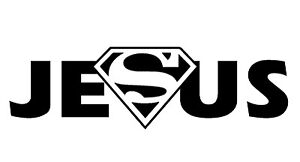 funny-car-bumper-sticker-Superman-Jesus-sticker-decal