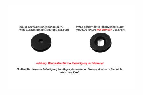 Exclusive-line Design Fußmatten für VW Polo 5 V 6R Bj 2009-07//2017