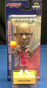 LeBron James NBA Edition 2004 All-Star Upper Deck Play Makers BobbleHead