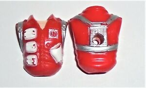 G I JOE BODY PART 1991 Red Star      Torso        C8.5 Very Good