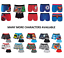 Men's Character Boxer Shorts Superhero Novelty Underwear Trunks S M L XL