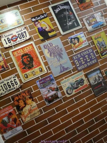 Metal Tin Sign fernet branca  Bar Pub Home Vintage Retro Poster