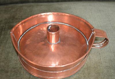 Antik Biedermeier Kerzenleuchter Kupfer