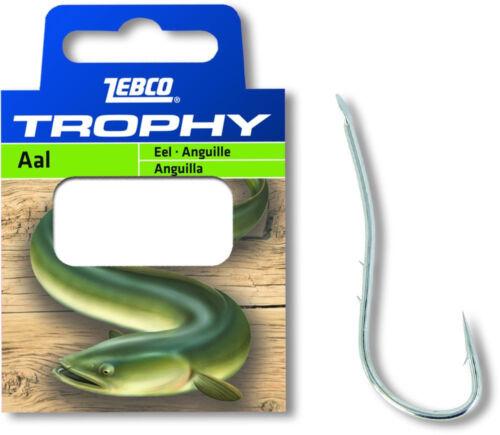 Zebco Trophy Aal Vorfachhaken Angelhaken gebunden Aalhaken angeln Fisch fangen