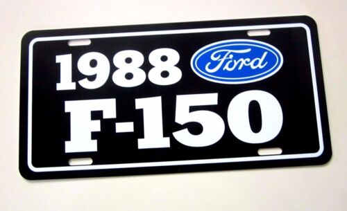 1988  Ford F-150 Pickup License plate tag 88  F150 Pick Up Truck Fleet side Step