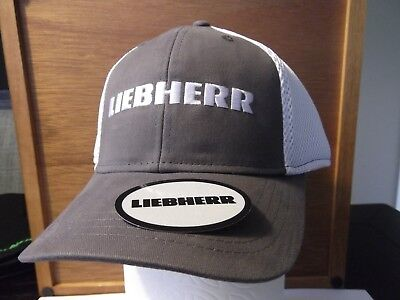 Link-Belt Crane Grey Hat $Rare$ /& Sticker for Crane Oilfield Mining Construction