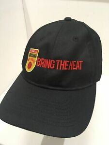 LOUISIANA HOT SAUCE / ATLANTA BRAVES Baseball Hat Adjustable Sz Ball Cap EUC