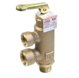 HPNR Saxon Hot Water Valve Pressure and Temperature Relief 1400kpa /1000kpa