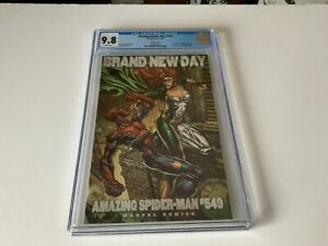 AMAZING-SPIDER-MAN-549-CGC-9-8-WHITE-PAGES-VARIANT-1ST-MENACE-MARVEL-COMICS