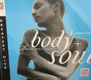 Body-amp-Soul-Sensual-3-CD-Time-Life-36-Greatest-Hits-Marvin-Gaye-Smokey-Robinson