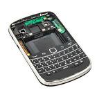 Full Housing Back Battery Case Cover+ Keypad For Blackberry Bold 9900 9930 Black