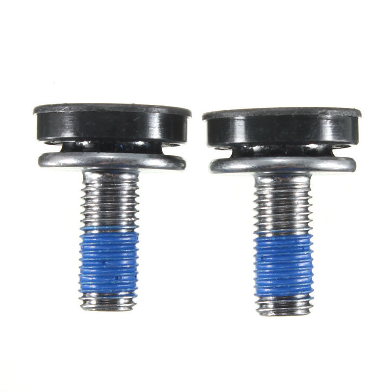 Cycling Axle Bolt Screw Capless Bicycle Key Crank Arm Bottom Bracke 1 Pair NIUS