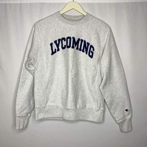 Vintage 60s 70s Champion Reverse Weave LYCOMING  G