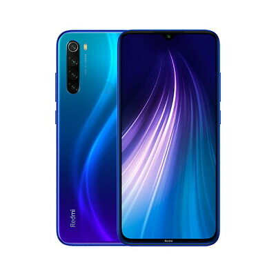 "Xiaomi Redmi Note 8 4GB 64GB 6,3 ""Smartphone 4000mAh Global Versión"