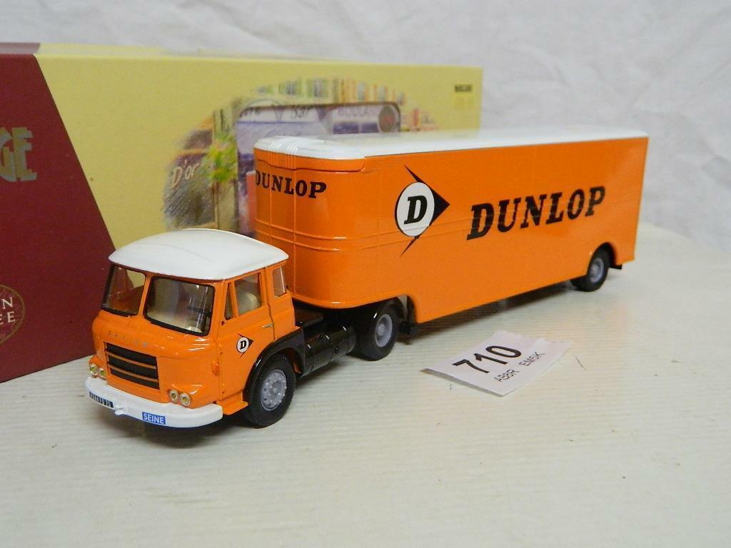 Corgi 1 50 Renault JL20 et Remorque Fruehauf Dunlop Box EX70904