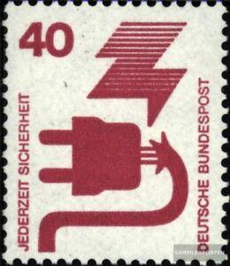 BRD-699A-Rc-mit-gruener-Zaehlnummer-postfrisch-1971-Unfallverhuetung