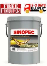Aw 32 Premium Anti Wear Hydraulic Oil Fluid 5 Gallon Pail 18l 475 Gal New