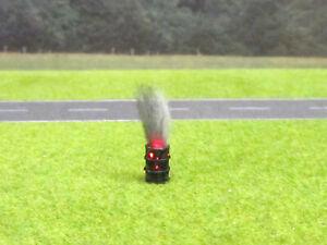 1-87-H0-Ol-Fass-Brennend-Rostig-LED-12V-Feuer-Rauch-Rostloecher-Patina-2