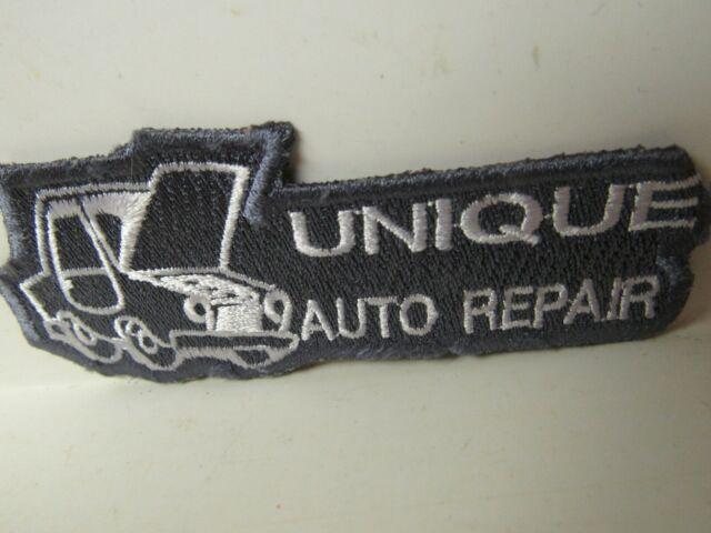 Vtg. Unique Auto Repair Patch | eBay