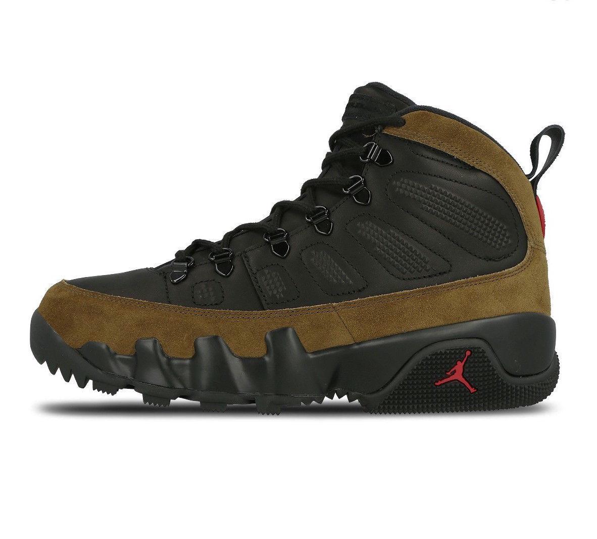 Aria nuova jordan jordan nuova 9 ix retrò boot nrg luce oliva nera vero red 8 ar4491 012 9f61ce