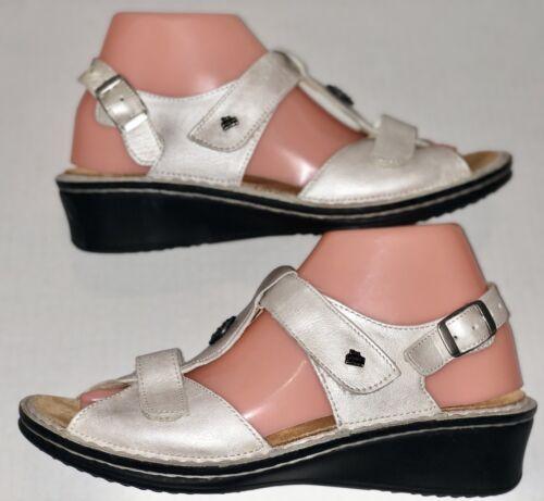 Finn Comfort Adana Ivory Women's Sandals Size EU 3