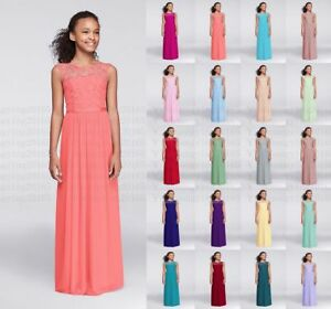 Image Is Loading Lace Junior Bridesmaid Dresses Wedding Party Princess