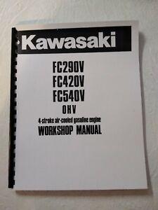 Details about Kawasaki Engine Service Workshop Manual FC290V FC420V on