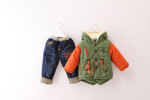 Nueva tradición China Disfraz Niño 3 Pc conjunto Traje Fiesta Traje size1-5 Años