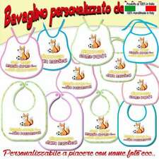 Bavetta Bavaglia bambino//a personalizzato Calcio Tifoso Juventus
