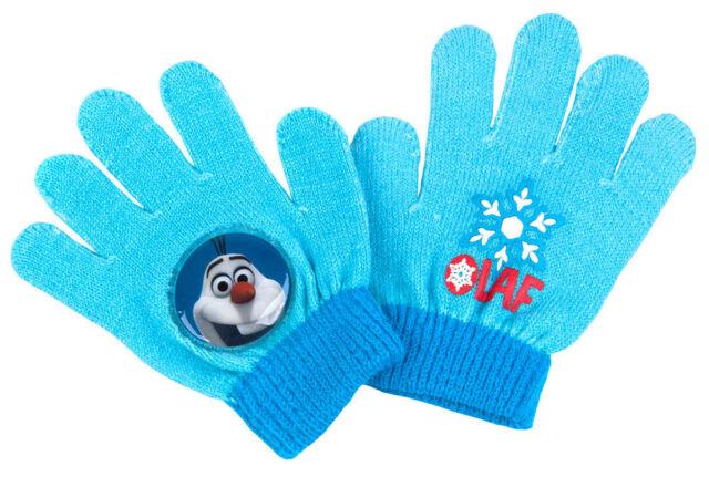 Disney Frozen Olaf Knitted Winter Gloves Kids Children