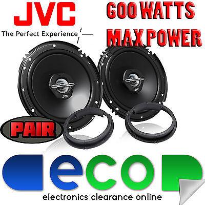 Chevrolet Cruze JVC 17cm 6.5 Inch 600 Watts 2 Way Rear Door Car Speakers