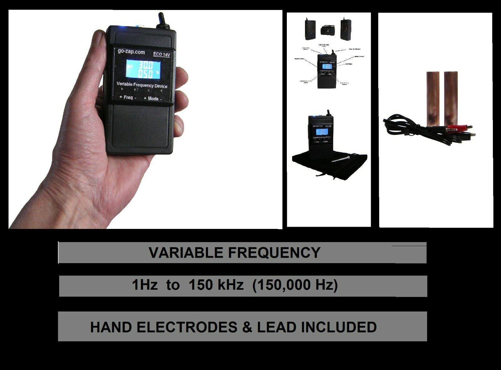 Free USA Shipping! Frequency Generator VariGamma 2.0 Dr Hulda Clark