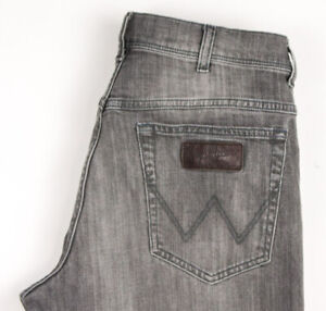Wrangler Herren Texas Stretch Jeans Gerades Bein Größe W34 L32 BCZ528