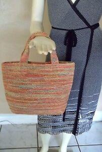 Image Is Loading Helen Kaminsky Australia 100 Raffia Straw Handbag
