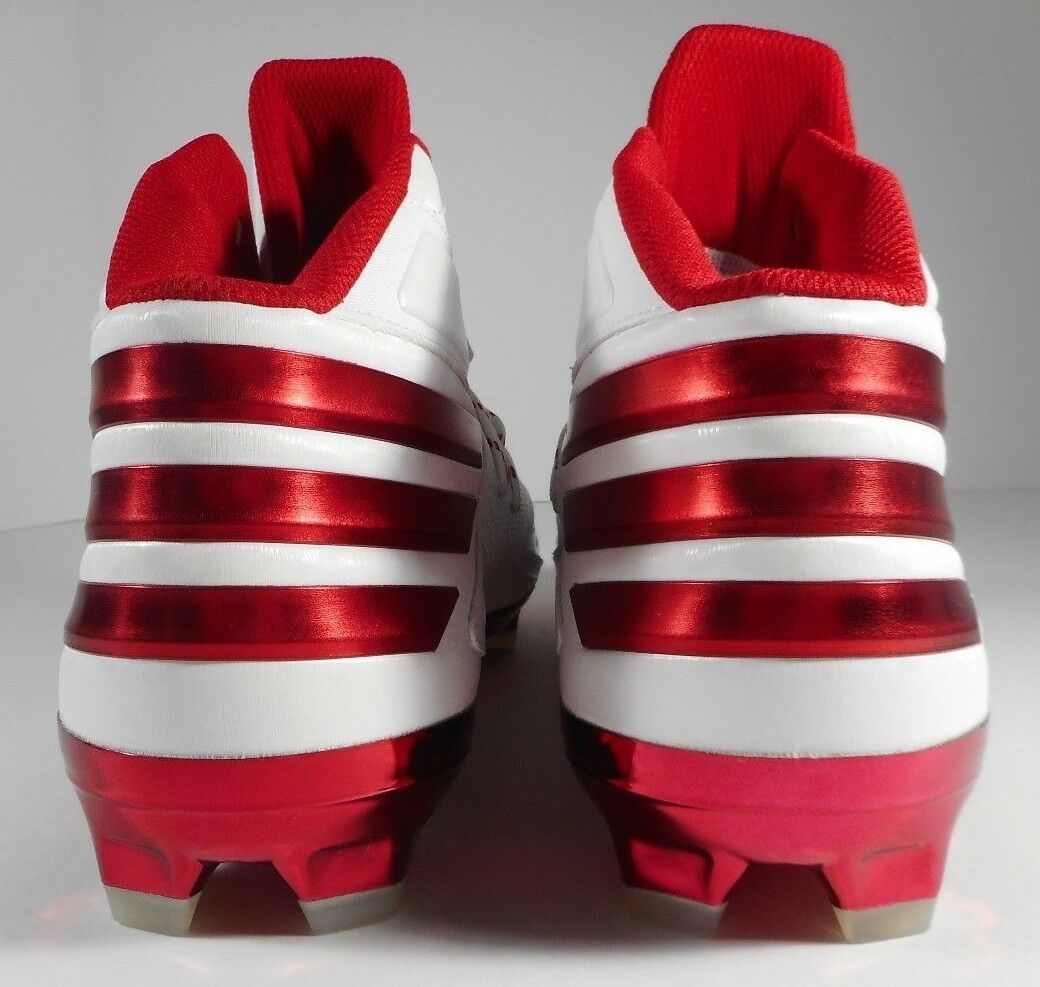 Adidas Freak X Carbon Mid Football Cleats B72702 White-Red NO (MEN'S 12) NO White-Red BOX 6d5bee